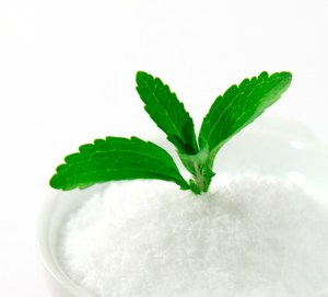 Stevia is part of a Healthy All-Purpose Blend for meats and vegetables.