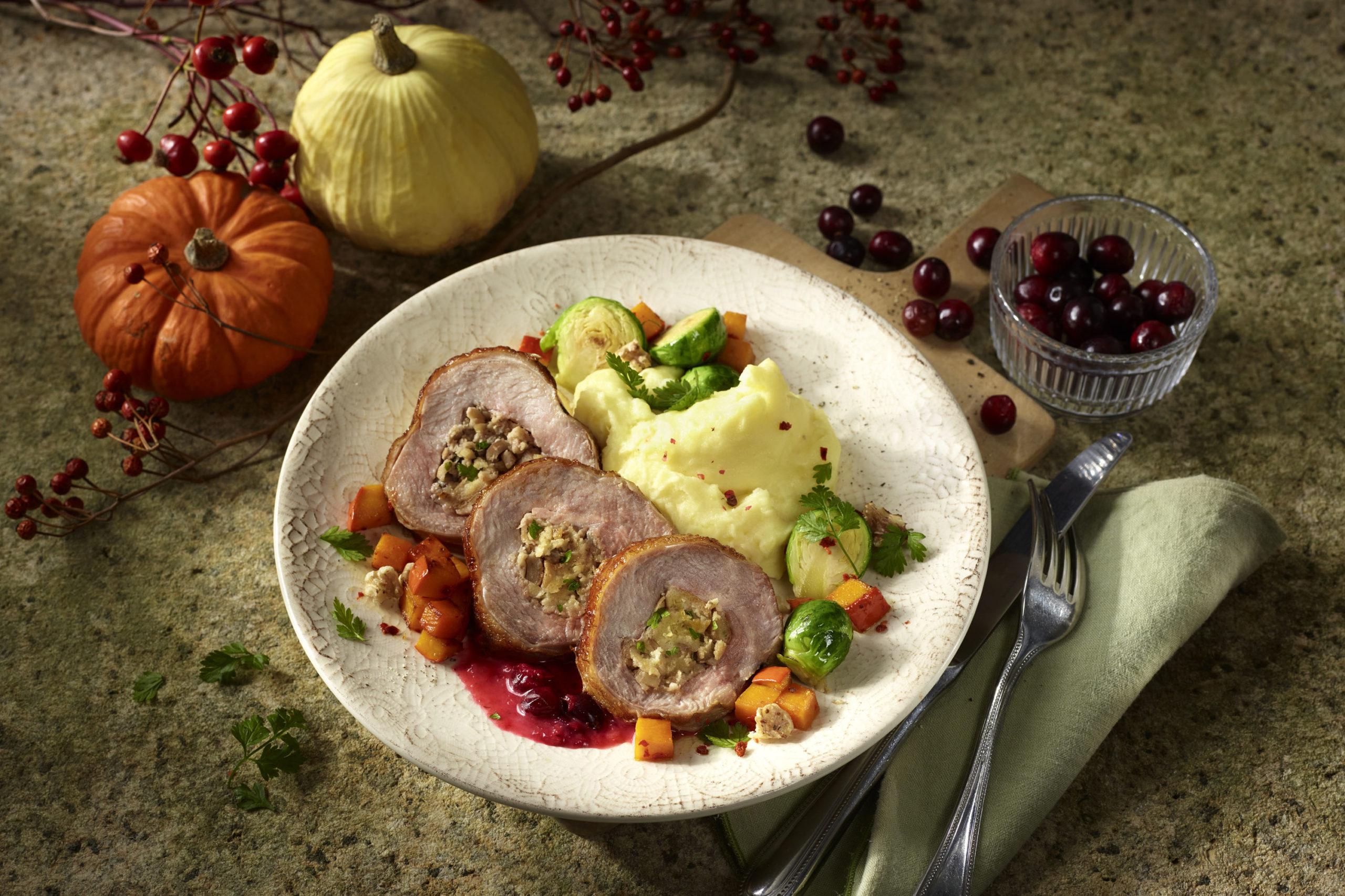 Thanksgiving-Genuss mit Putenfleisch