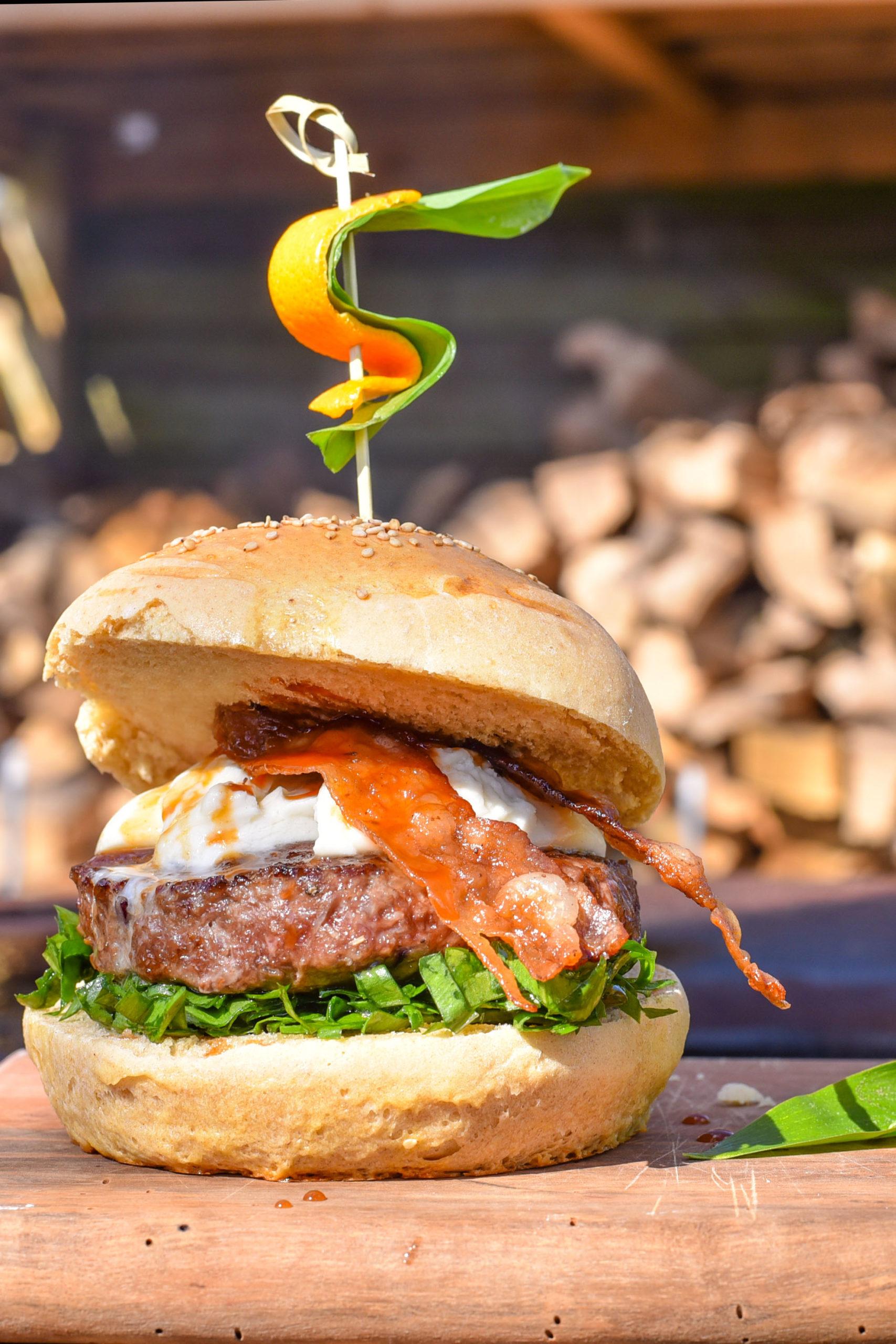 Wildschweinburger - Wild auf dem Grill