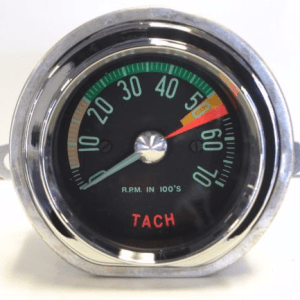 1962 Corvette Tachometer Low Redline