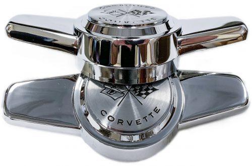 Corvette hubcap spinners