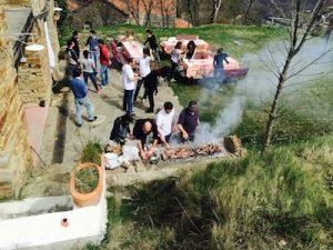 Barbecue Campfire Lodge