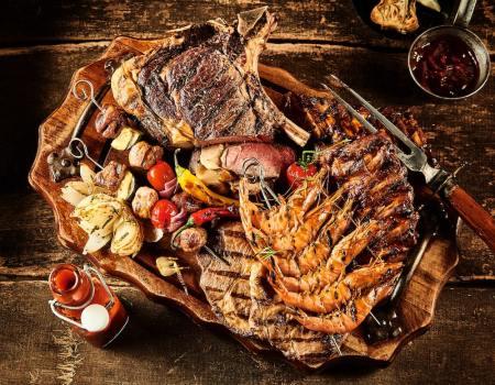 Cottura Barbecue con coperchio 2-min