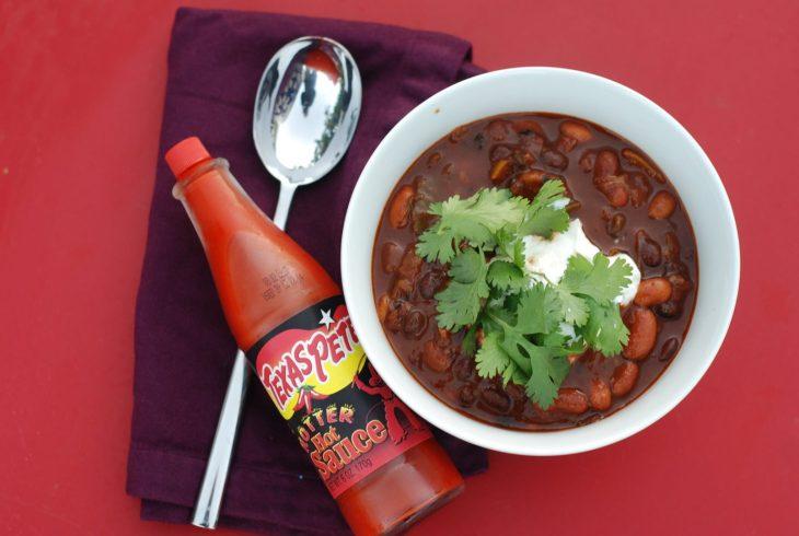 grilled jalapeno chili, vegetarian chili recipe, grilled jalapeno chili recipe