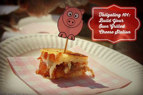 "Host a ""build your own Grilled Cheese"" bar at your next cookout. Photo via creative commons/flickr."