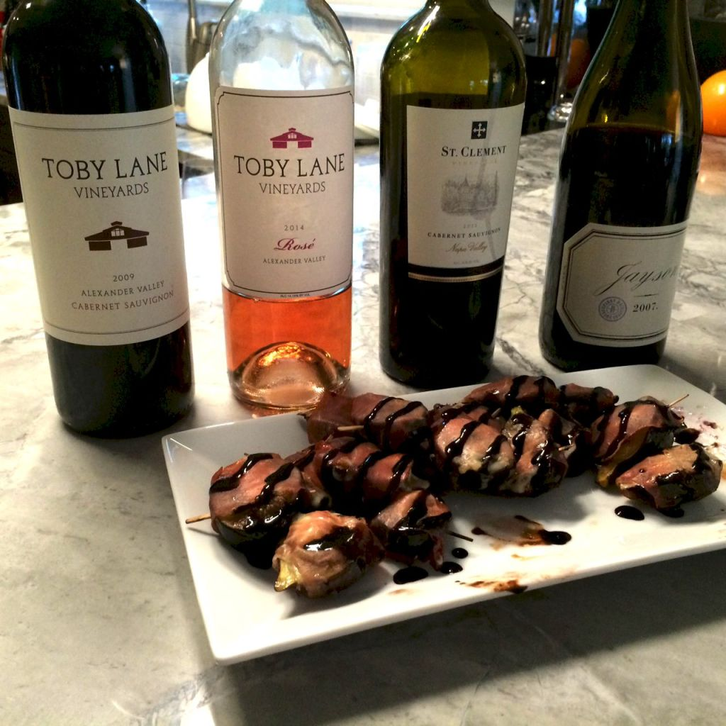 These were perfect for happy hour- we paired them with some great wines.