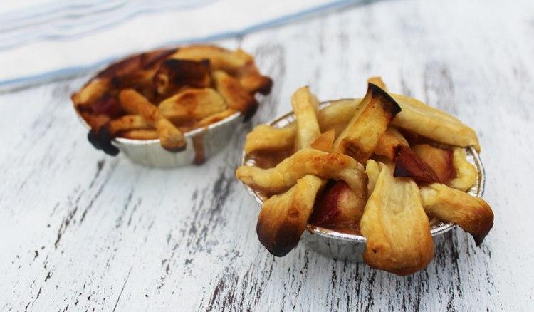 Grilled Mini Apple Pies | Recipe + Photo by Michelle Lara