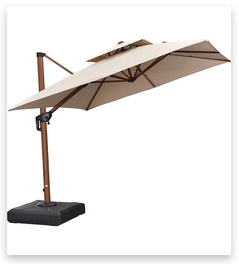 best cantilever umbrella for wind