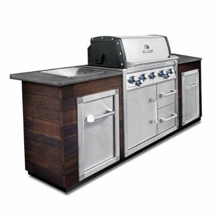 Broil King Imperial 590 parim integreeritav gaasigrill grilliguru köögisaar kööginurk väliköök