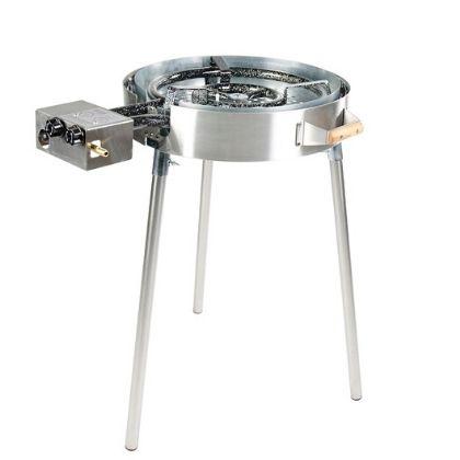 Grillsymbol PRO580 inox wokipann pannikomplekt grilliguru