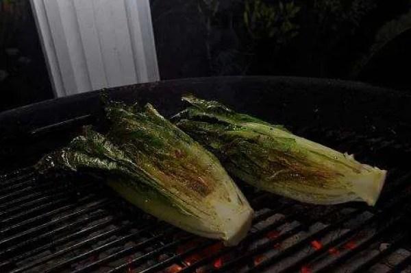Jerk Steak 10 - Side of Grilled Lettuce