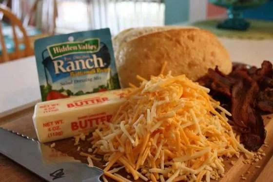 Grilled Bacon Cheddar Bread - 016
