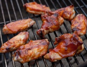 How To Grill Wings With Charcoal