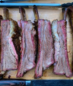 Texas Style Beef Ribs: Rec Tec Pellet Smoker Recipe