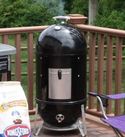 How to light a Weber Smokey Mountain Smoker - WSM