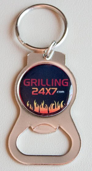 Grilling24x7 Keychain Bottle Opener