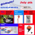 July 4th Grilling Giveaway!