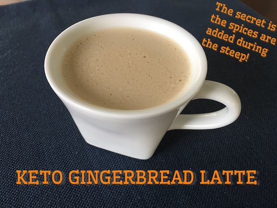 Keto Gingerbread Latte Recipe