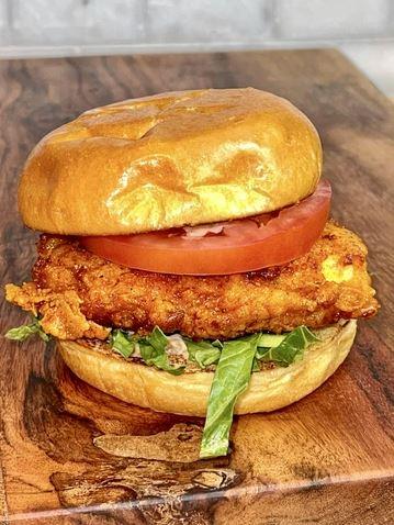 Nashville Hot Chicken Sandwhich