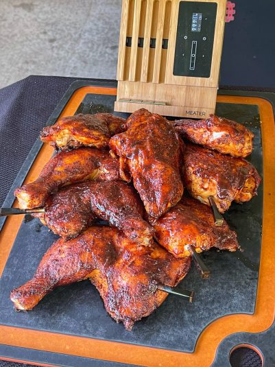 Grilled Chicken With Chipotle BBQ Sauce