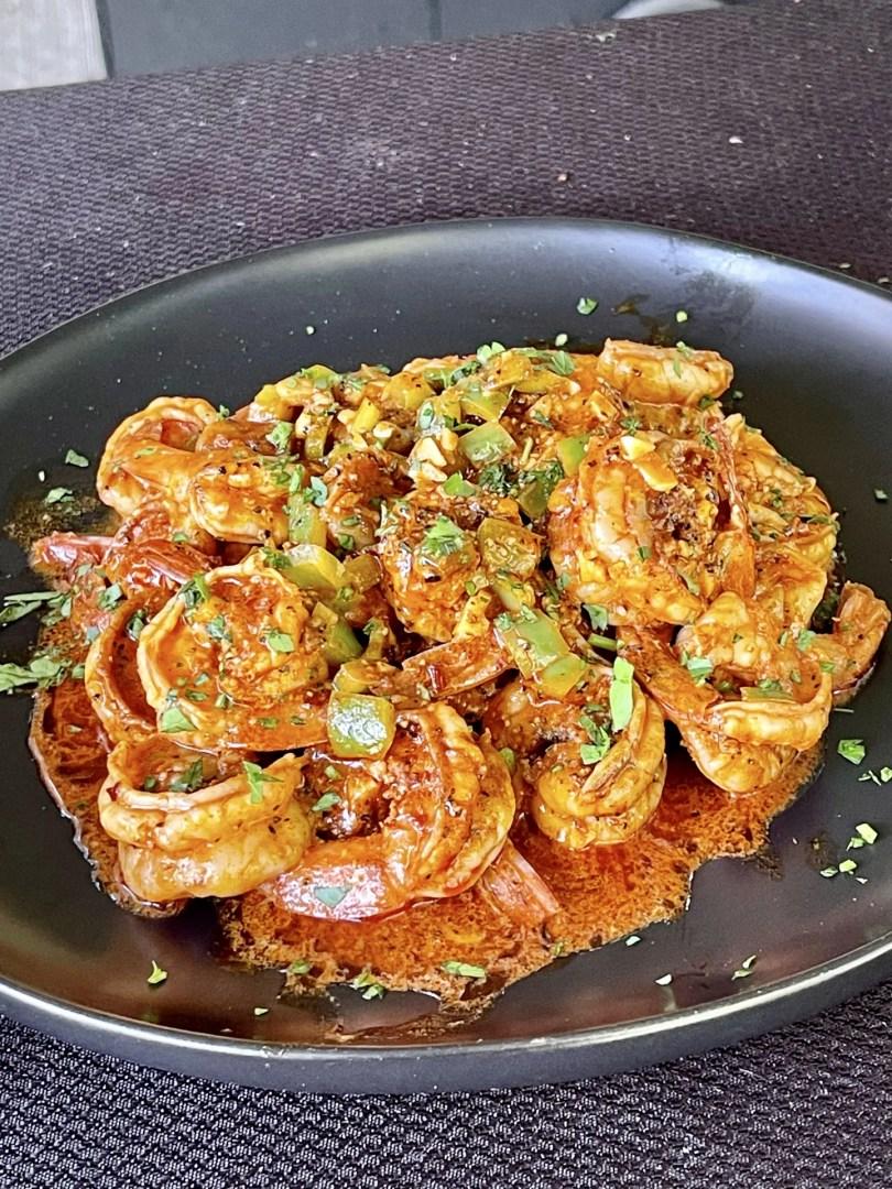 Chili Garlic Butter Shrimp