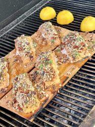 panko crusted salmon