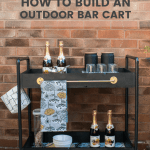 Easy Diy How To Build A Rolling Bar Cart With Rust Oleum Grillo Designs