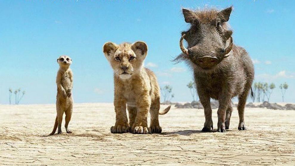 'El Rey León', la película animada más taquillera de la historia