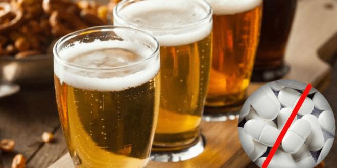 Tomar paracetamol y cerveza al mismo tiempo daño al hígado