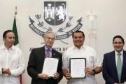 La Comuna firmó un convenio con la UDLAP, para crear mejores condiciones laborales