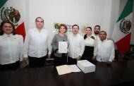 María Fritz entregó el Primer Informe de Resultados al Congreso del Estado