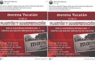 """MORENA """"importa"""" la violencia a Yucatán, afirma el PAN"""