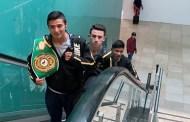 Miguel Herrera y otros dos prospectos de boxeo viajan a entrenar al Centro Ceremonial Otomí, en el Estado de México