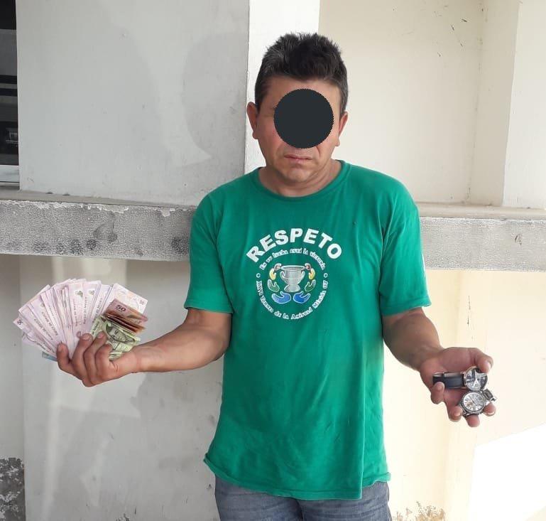 Se queda en prisión el ladrón de dos relojes de Ciudad Caucel