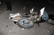 Muere una joven motociclista luego de derrapar, en la carretera a Tekit