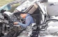 Trágico accidente en la Mérida-Campeche: Un joven se impacta contra un trailer