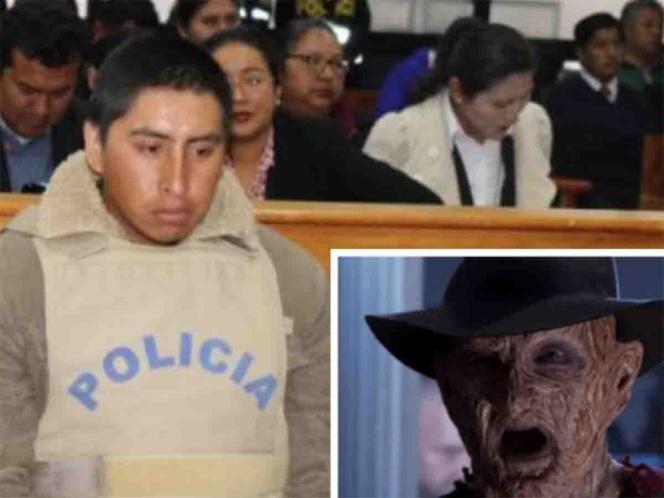 Descuartizador peruano quería imitar a Freddy Krueger