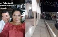 El secretario municipal de Dzidzantún nalguea a una mujer y encierra a su esposo