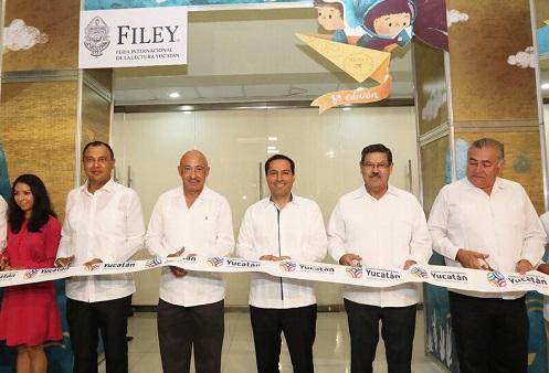 Mauricio Vila inauguró la octava edición de la Filey