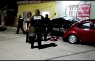 """Policía de Progreso se duerme al volante y choca su patrulla en la """"Ismael García"""""""