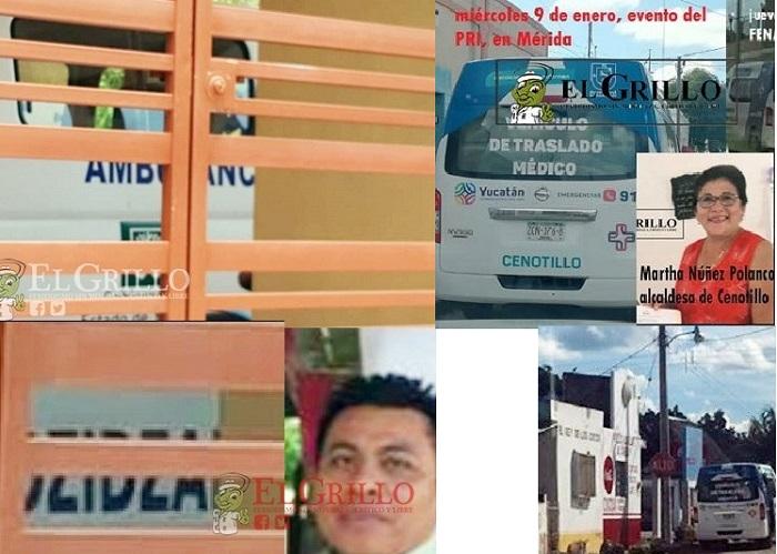 Ambulancias multiusos: Para eventos del PRI y hasta para llevar Testigos de Jehová