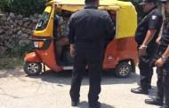 Una motociclista y tres menores se lesionaron, tras chocar contra un mototaxi, en Motul