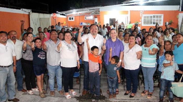 Es momento de trabajar unidos y dar buenos resultados: Panchito Torres