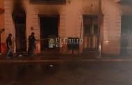 Se incendia una casa, en el centro de Mérida: no hubo heridos
