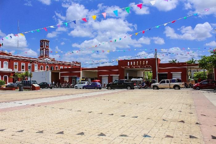 El centro histórico de Motul, con nueva imagen