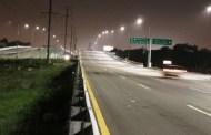 Se duerme al volante y choca contra un poste de luz, en la carretera Mérida-Progreso
