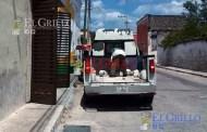 Alcalde de Cansahcab hace camioneta una ambulancia, para su servicio personal