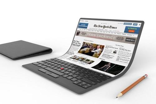 Lenovo estrenará una laptop con pantalla flexible (VÍDEO)