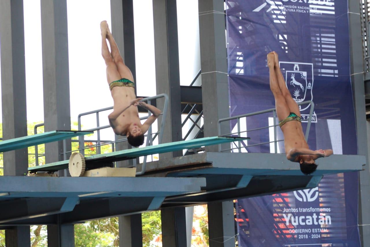 El yucateco Juan Diego Cervera gana plata en el último día de la Olímpiada Nacional de clavados