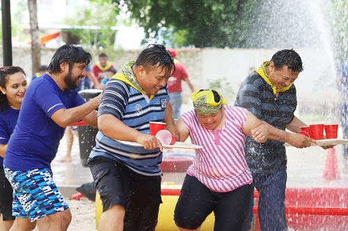 Con actividades, convivencia y diversión, el DIF de Mérida celebró el Día del Padre